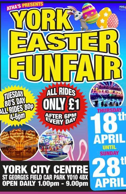 York 360° ~ York Easter FunFair