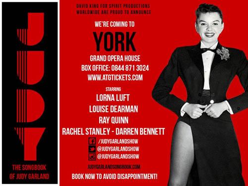 The Judy Garland Story Uk Tour