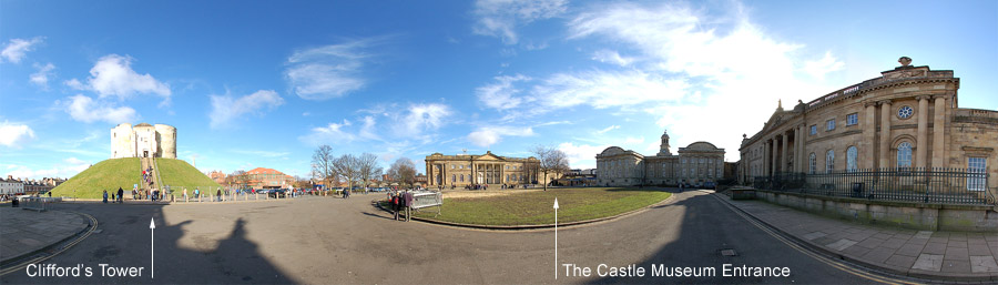 York Castle Museum and Cliffords Tower
