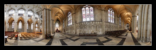 Interior of York Minster
