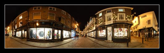 Late Night Shopping In York