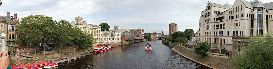 Lendal Bridge and York Guild Hall