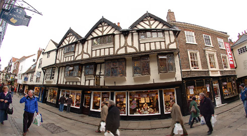 Mulberry Hall, Stonegate, York