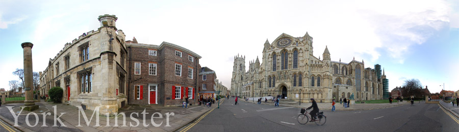 Panoramic Photo of York Minster