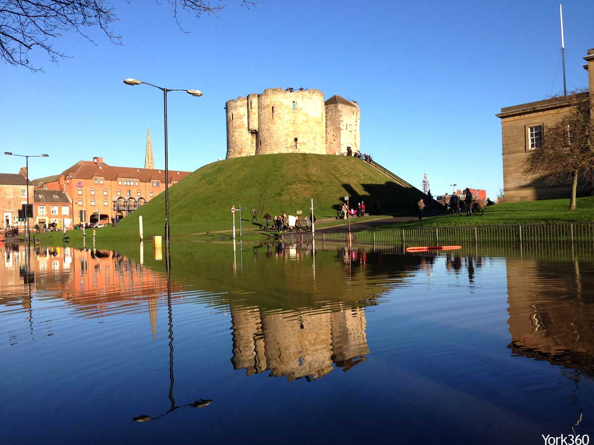 Clifford's Tower Floods York