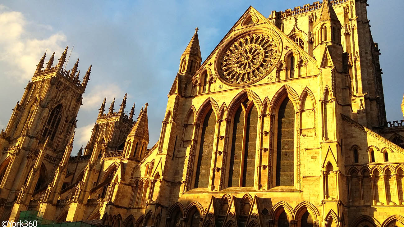 Sun On York Minster