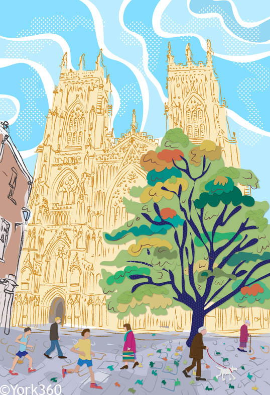 York Minster Drawing