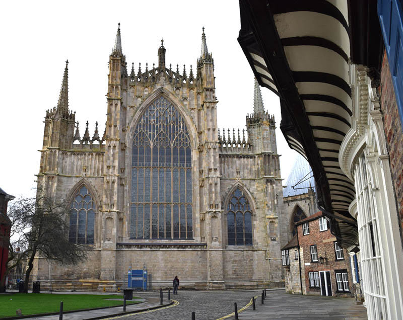 York Minster East Facade