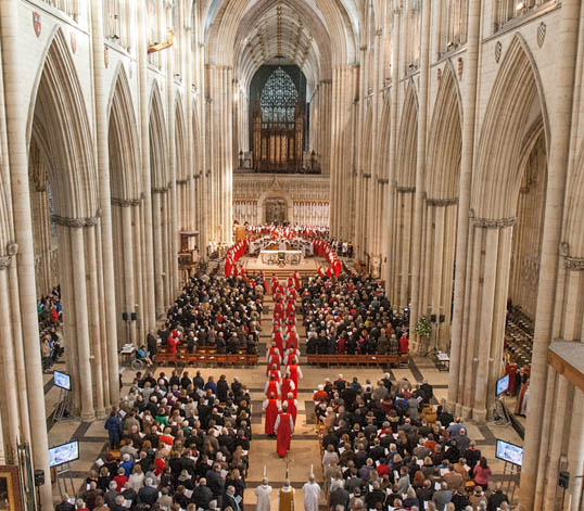 The Interior of York Minster