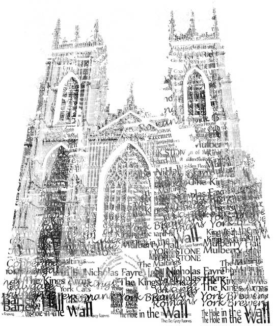 Print of York Minster