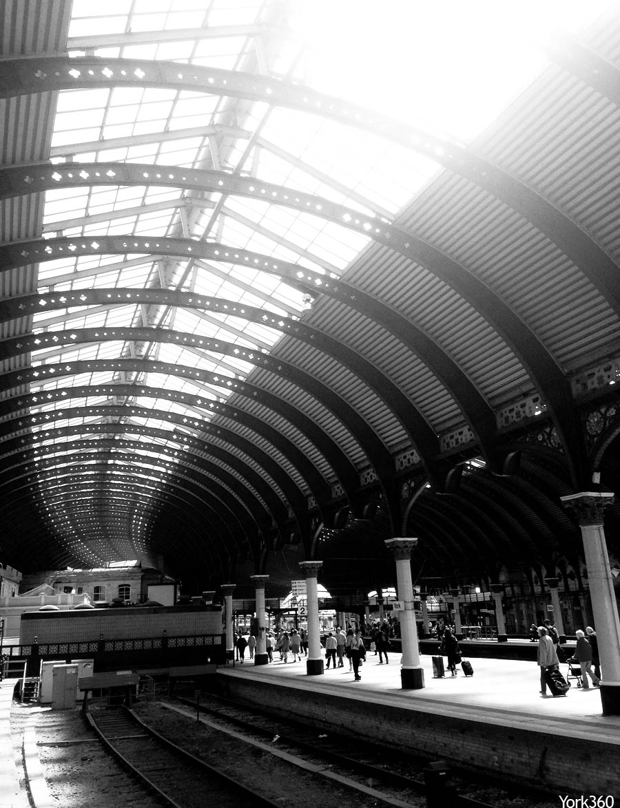 York Railway Station Platforms and Roof