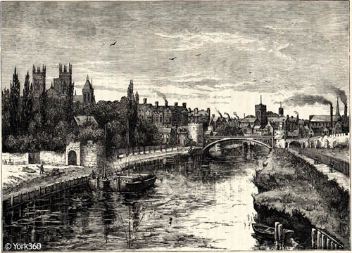 Antique Engraving York