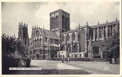 York Minster 1930
