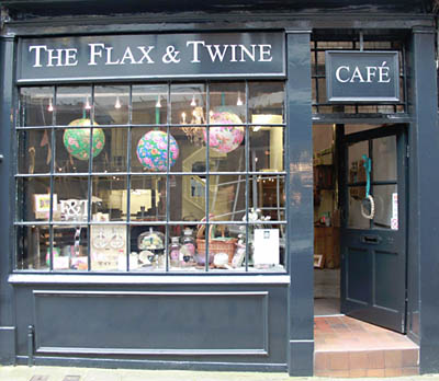 The Flax & Twine, No.20 Shambles, York.