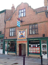 Merchant Adventurer's Hall from Fossgate