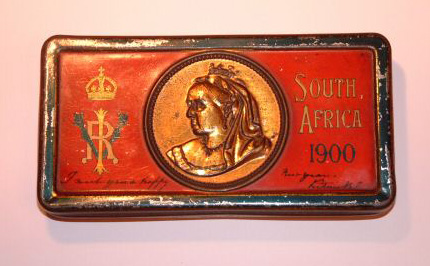 Boer War Tin