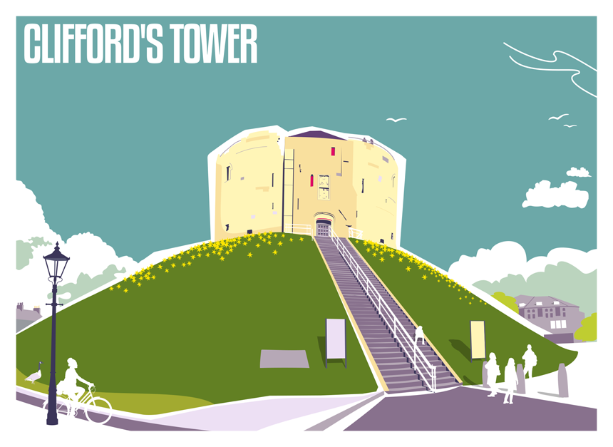 Clifford's Tower Drawing