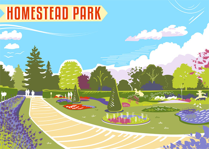 Homestead Park by Elliot Harrison
