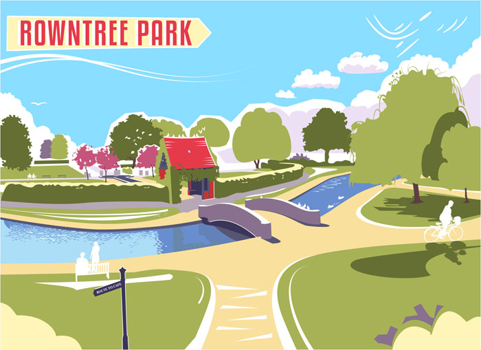 Rowntree Park by Elliot Harrison