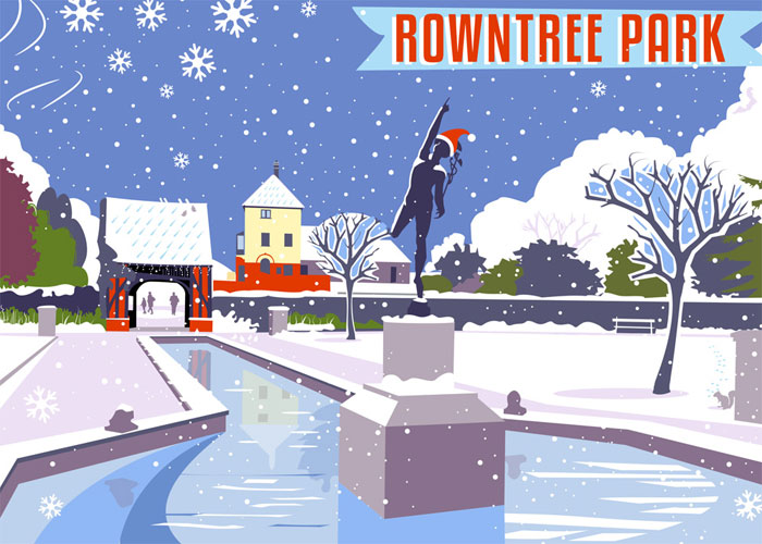 Christmas Card Rowntree Park