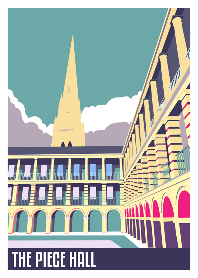 The Piece Hall, Halifax by Elliot Harrison