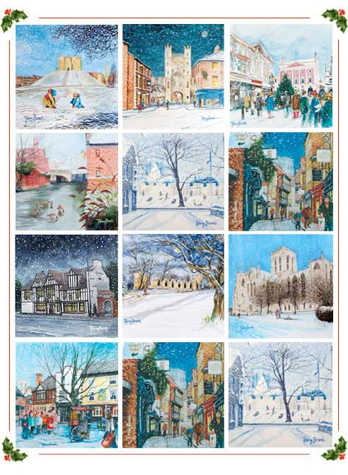 York Christmas Cards