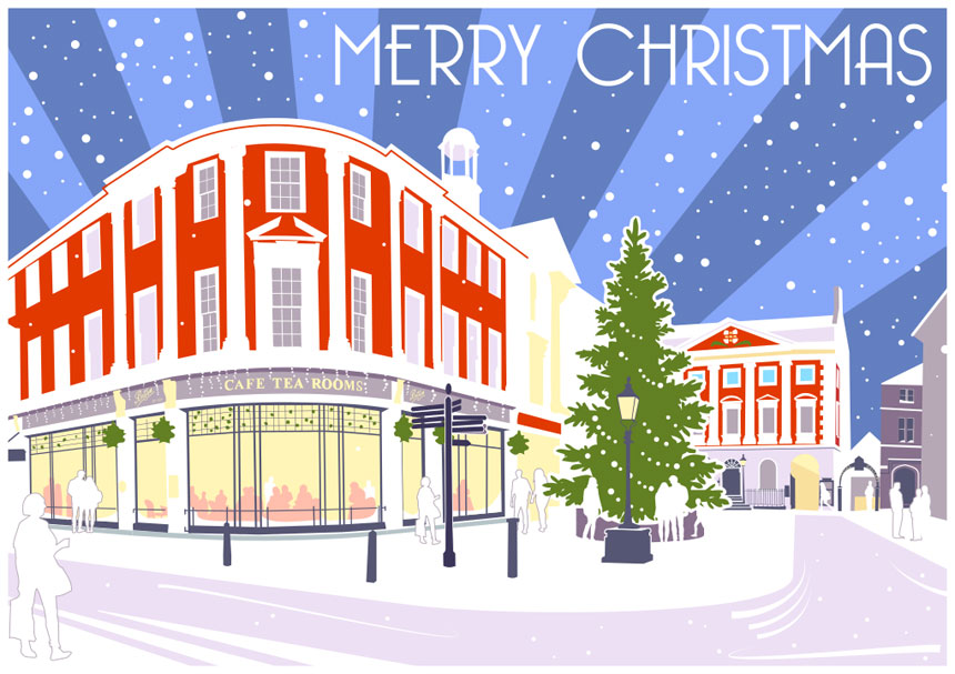 Christmas Card of York