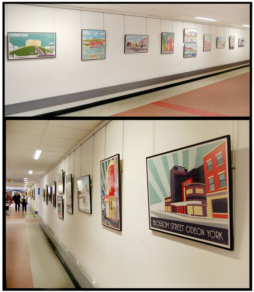 York Hospital Poster Exhibition