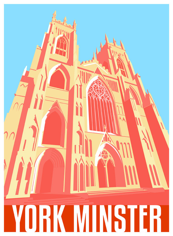 York Minster Drawing Elliot Harrison