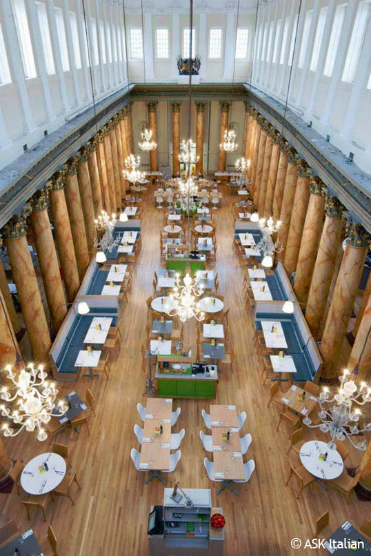Ask York The Assembly Rooms York Ask Restaurants Reviews