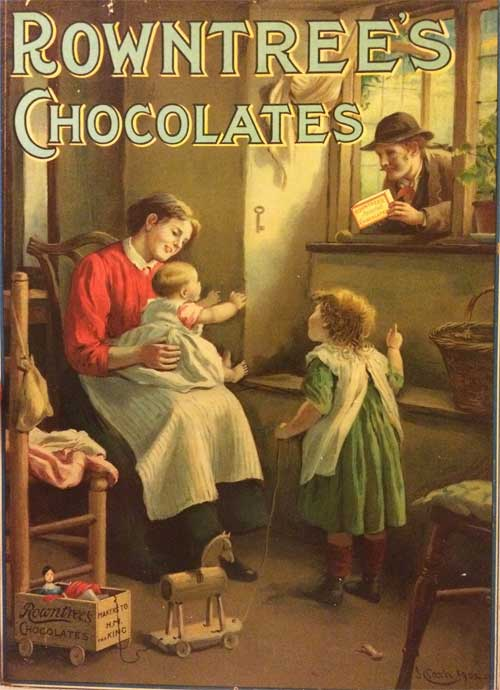 Chocolates Advertising Poster